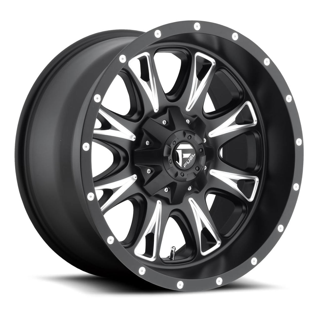 D513 - THROTTLE Matte Black & Milled