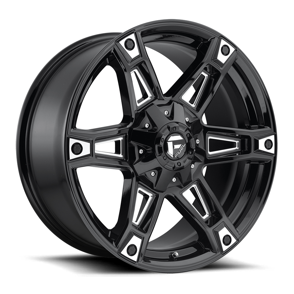 D622 - DAKAR Black & Milled