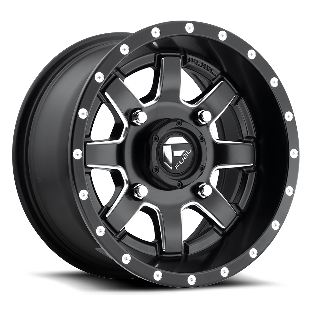 D538 - MAVERICK UTV Black & Milled