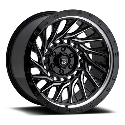 757 - Monsoon Gloss Black w/ Machined Accents