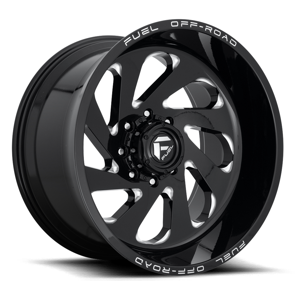 D637 - VORTEX Gloss Black & Milled