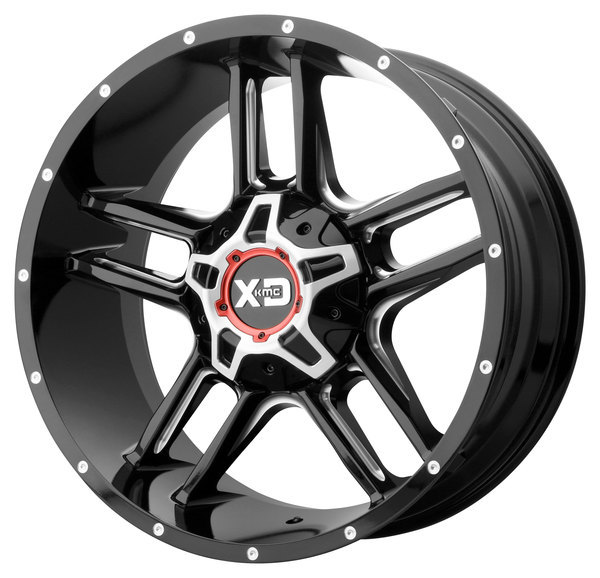 XD839 - CLAMP Gloss Black Milled