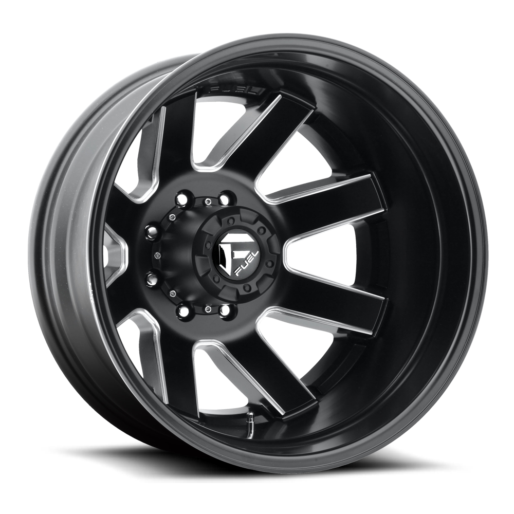 D538 - MAVERICK Dualie Rear Black & Milled