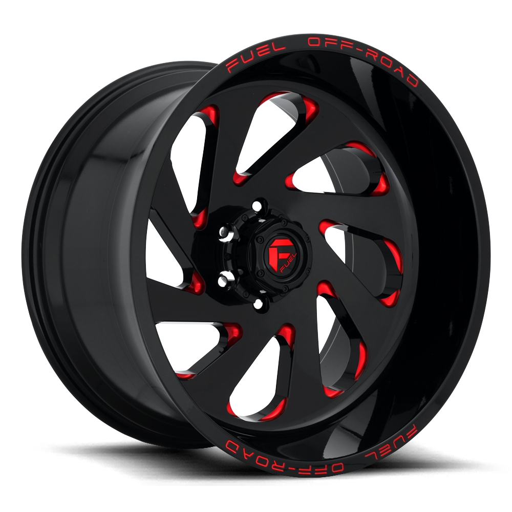 D638 - VORTEX Gloss Black W/Red