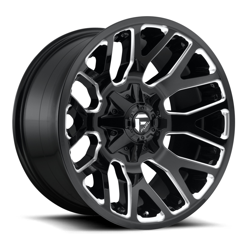 D623 - WARRIOR Gloss Black & Milled