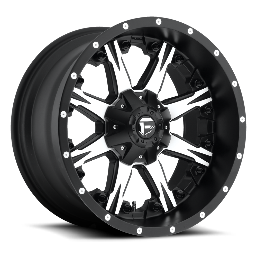 D541 - NUTZ Black & Machined