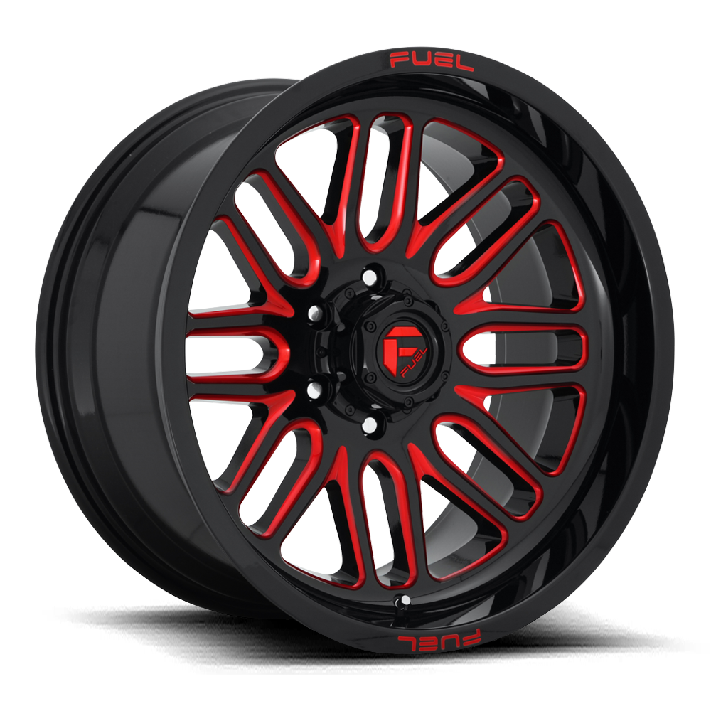 D663 - IGNITE Gloss Black W/Red