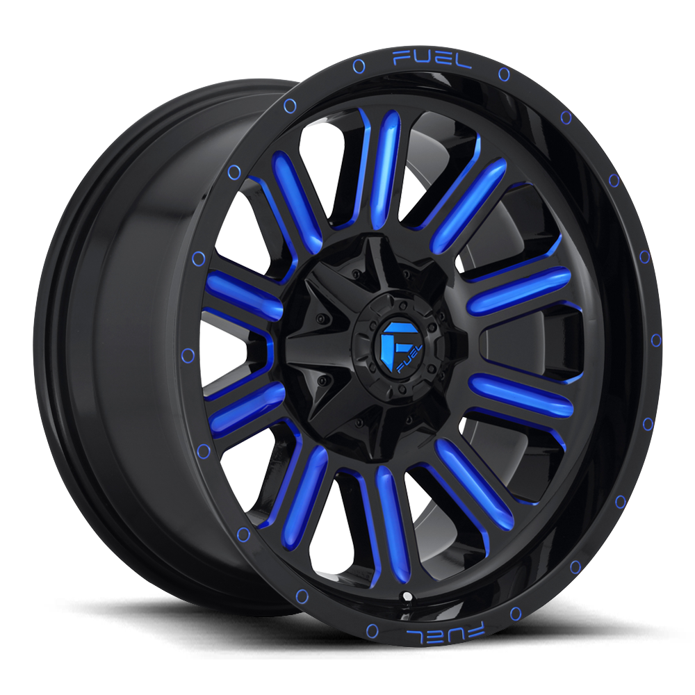 D646 - HARDLINE Gloss Black W/Blue