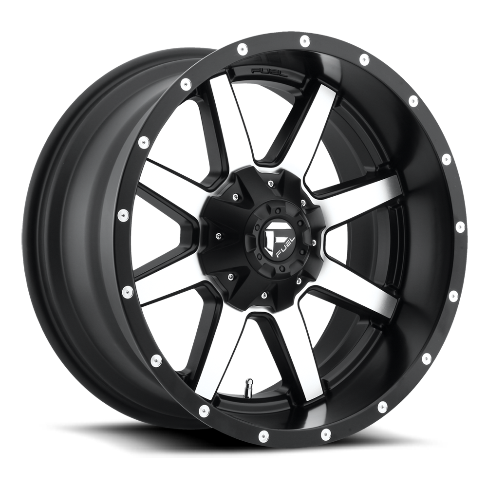 D537 - MAVERICK Black & Machined