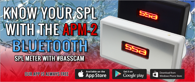 Know Your SPL with the SSA APM-2 Bluetooth SPL Meter.  Always FREE APP!