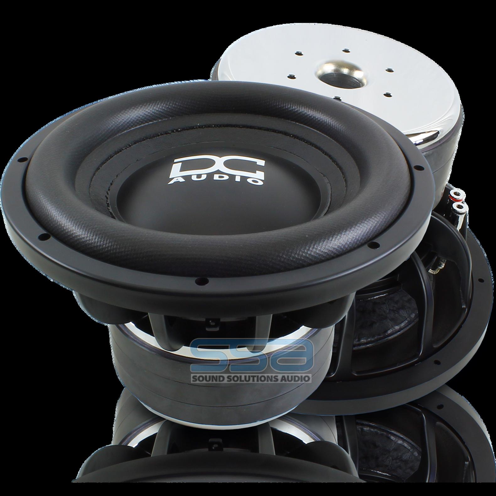 DC Audio Level 4 10 M2 1 1400w Subwoofer