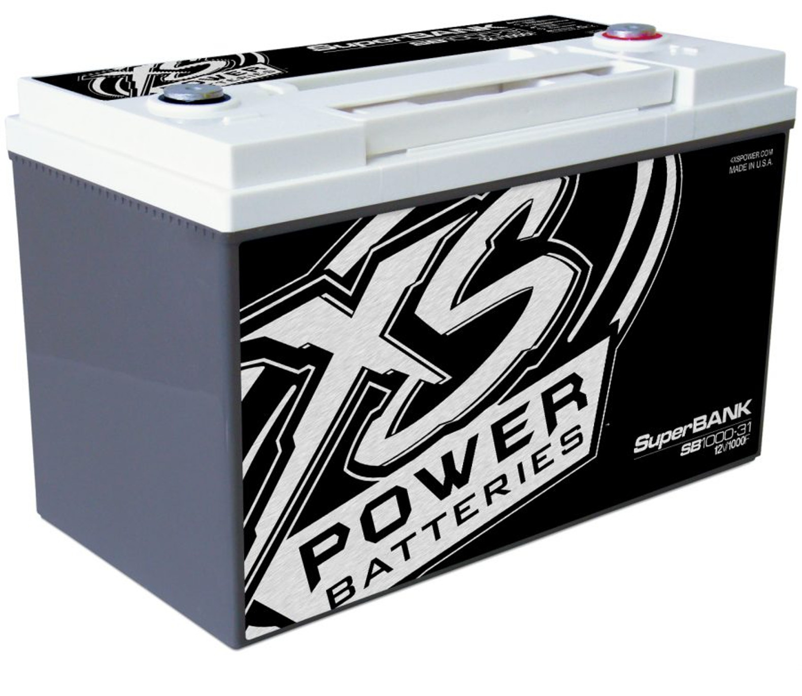 xs power 12v super capacitor bank, group 31, max power 8,000w, 1,000