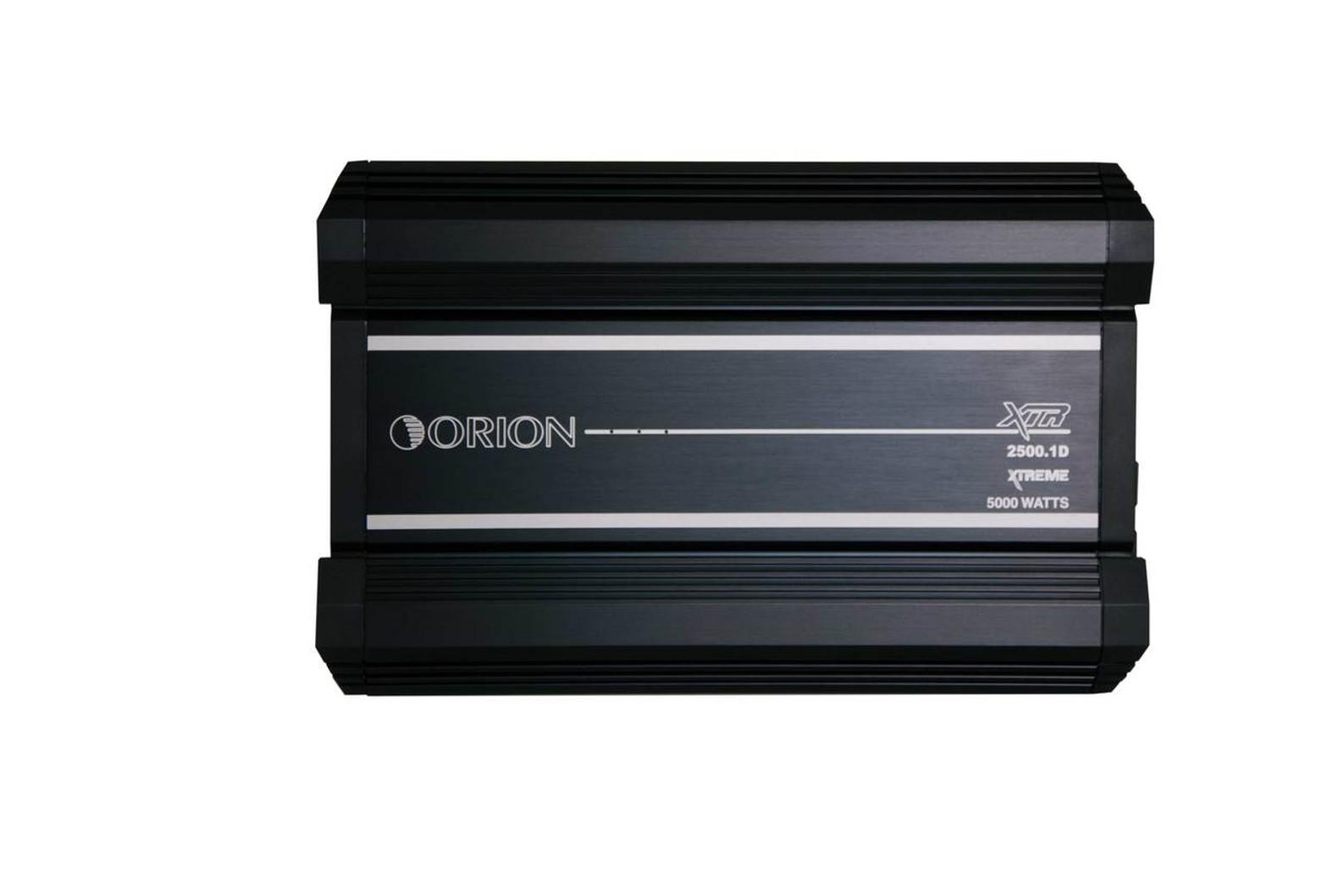 ORION XTR XTR2500 1DZ, CLASS D AMPLIFIER 2500 WATTS RMS 1 OHM
