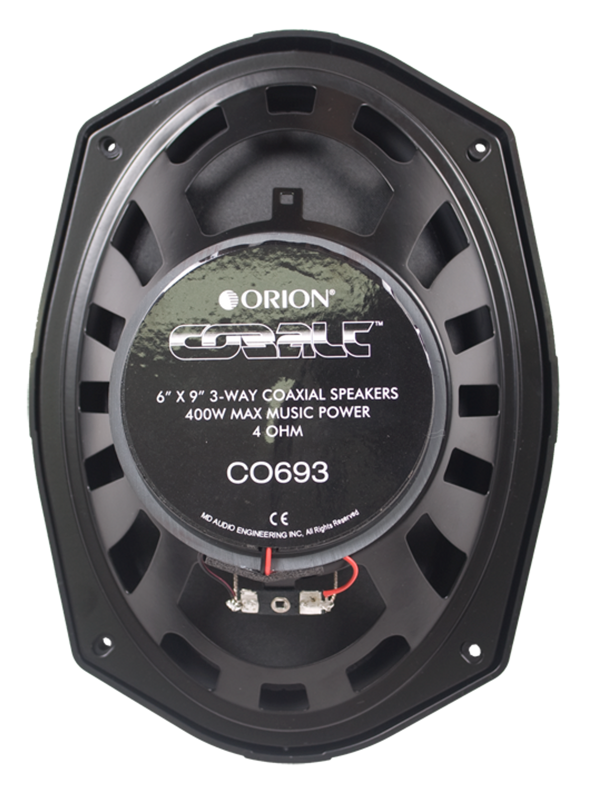 Pair Orion CO653 6.5 3-Way Cobalt Series Car Audio Speakers