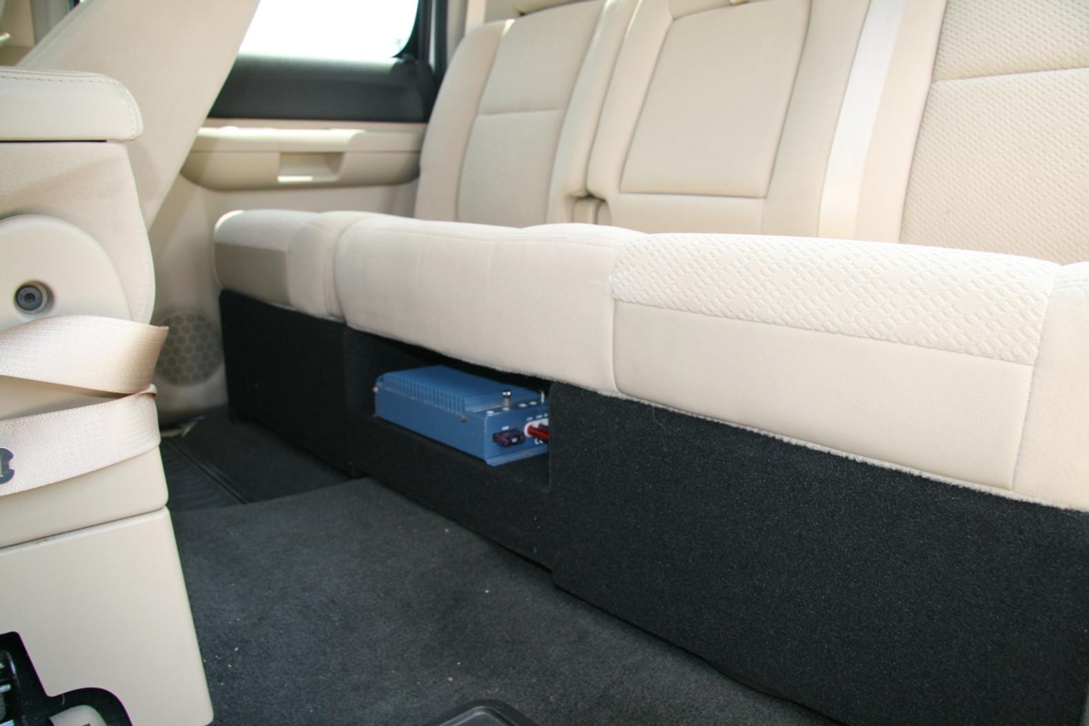 "2006 to 2014 Honda Ridgeline Subwoofer Enclosure sub box For 2 10 subs 3//4/"" MDF"