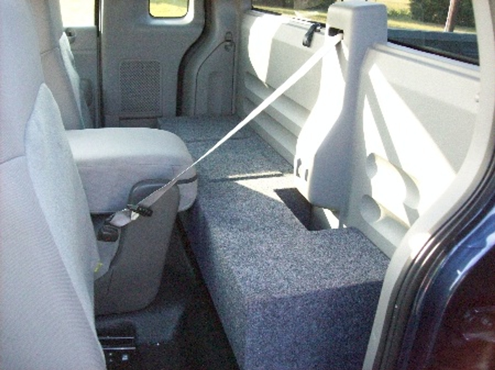 2004 to 2008 Ford F150 SuperCab Box Enclosure 10 Box EXT cab Subwoofer Extended