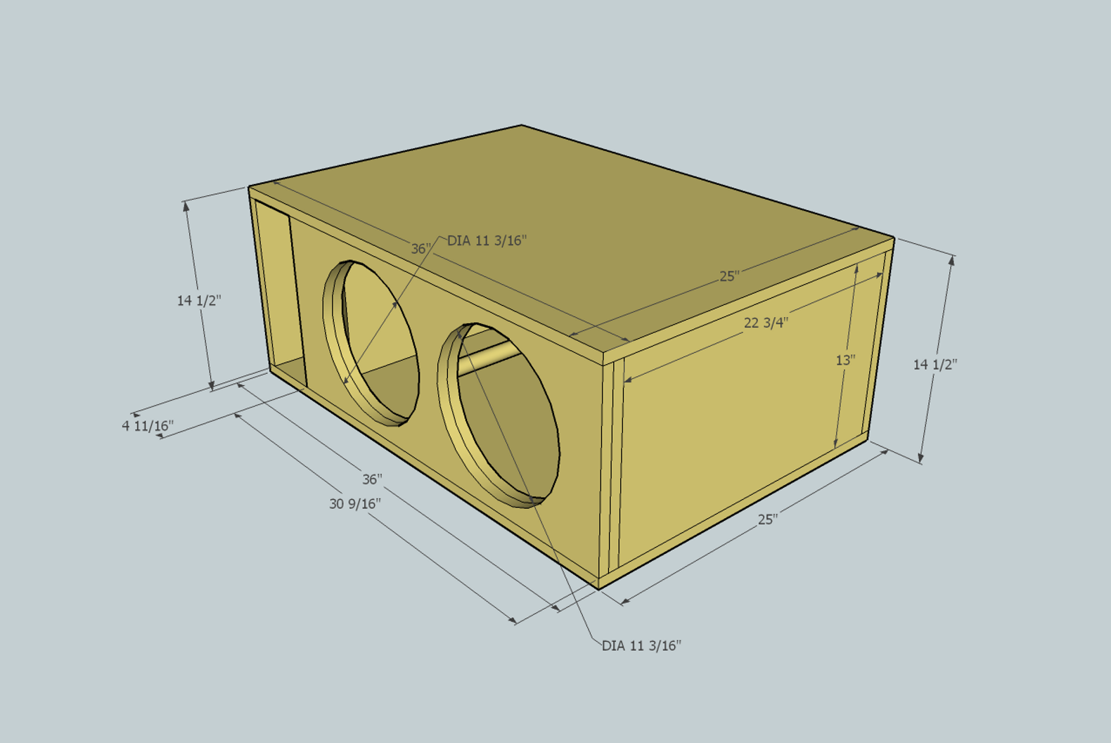 1 Woofer Enclosure Design