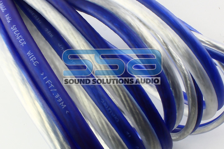Speaker Wire 14 AWG OFC 400ft Spool - Sky High Car Audio