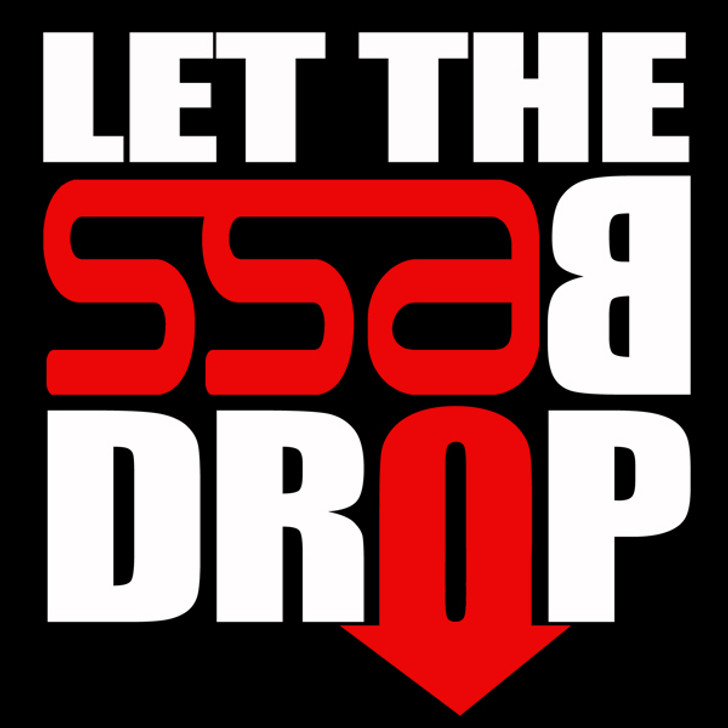 """SSA Let the Bass Drop Decal 6"""" x 6"""""""