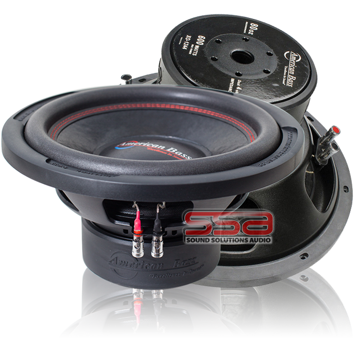 American Bass XO 1044 10 Inch 400w RMS DVC 4 Ohm Subwoofer