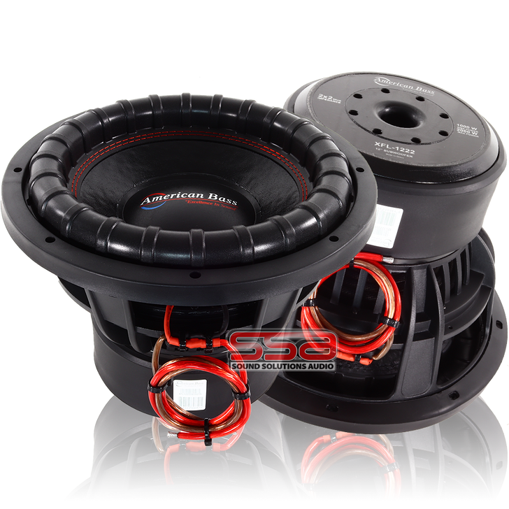 American Bass XFL 10 Inch 1000w RMS DVC Subwoofer