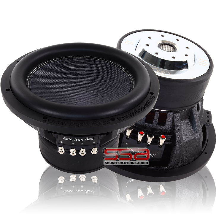 American Bass XR10 10 Inch 1200w RMS DVC Subwoofer