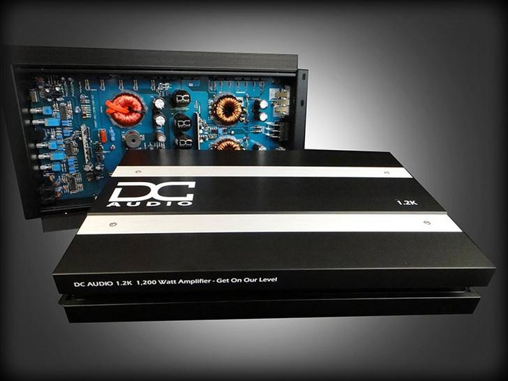 DC Audio 1.2K A3 1200w Mono Block Amplifier