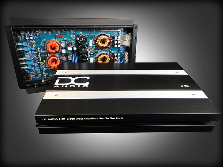 DC Audio 2K A3 2000w Mono Block Amplifier