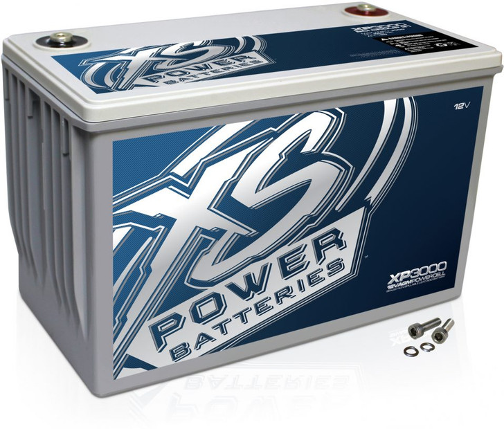 XS Power XP3000 12v AGM Battery, Max Amps 3000A
