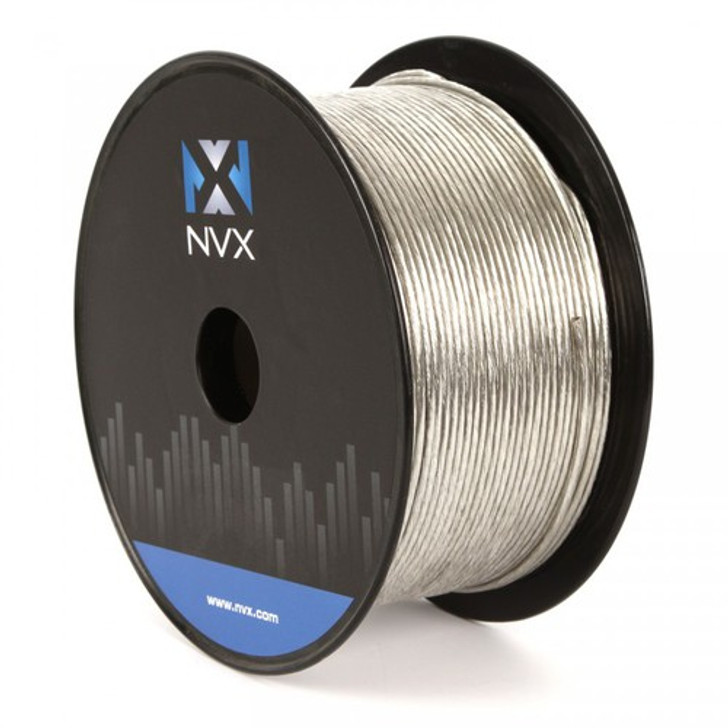 NVX XW18500CL - 500 Ft 18 Gauge Clear Remote Wire Cable