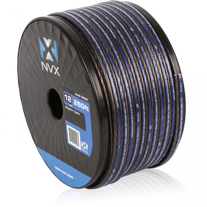 NVX XWS12250 250 Feet Speaker Cable/Wire