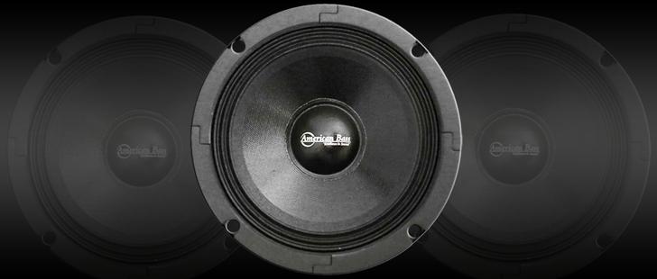 American Bass SQ65CBX Midrange Speaker