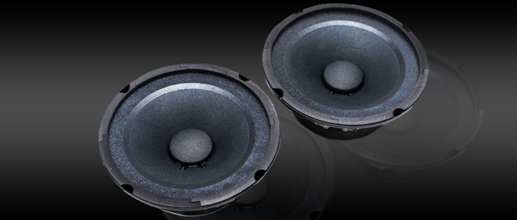 American Bass SQ6 Midrange Speaker
