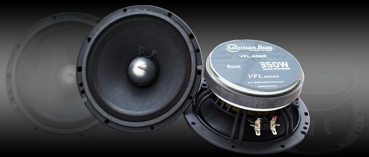 American Bass VFL65MR Midrange Speaker