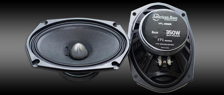 American Bass VFL69MR Midrange Speaker