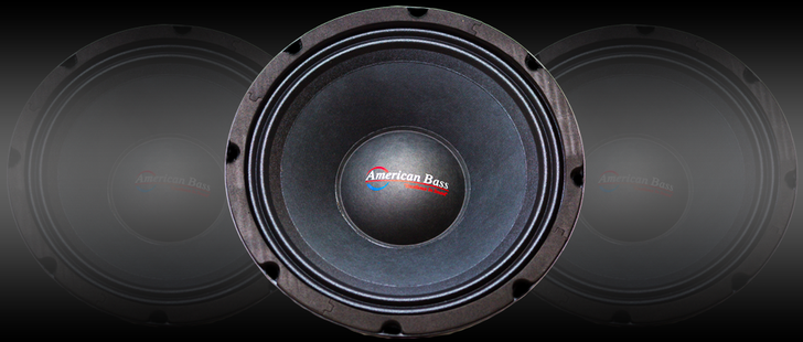 American Bass VFL10MR Midrange Speaker