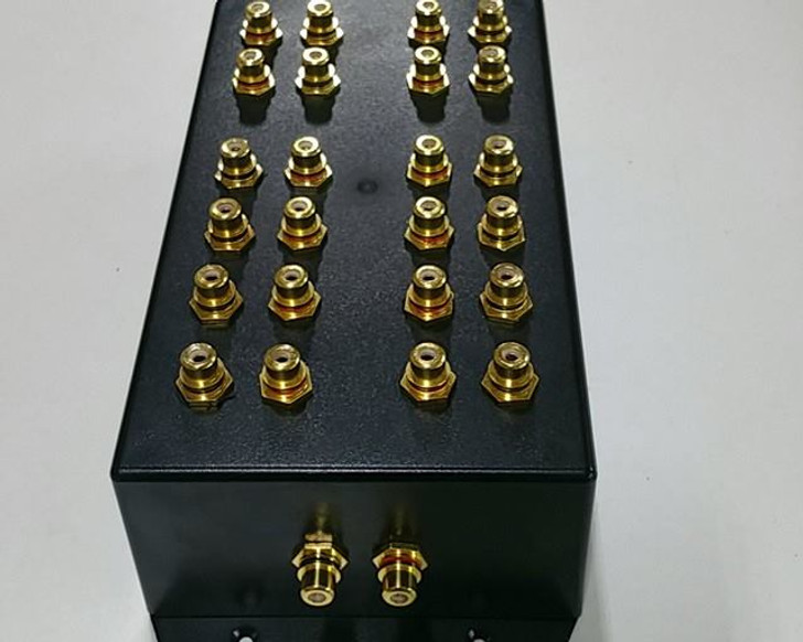 "SBC ""Cock Box"" 1 to 10  RCA Distribution Block"