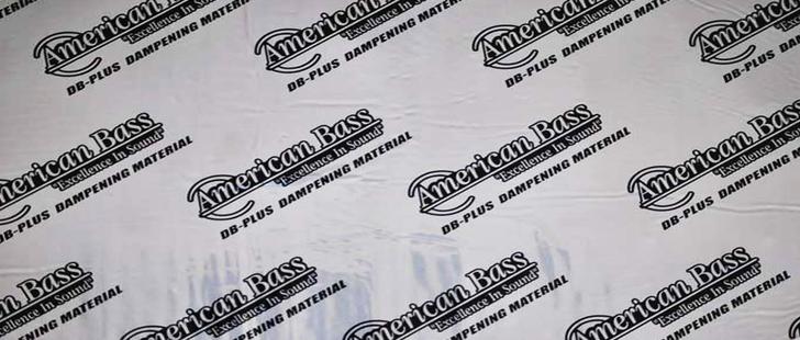 American Bass DB PLUS Trunk Kit 20 SQ FT