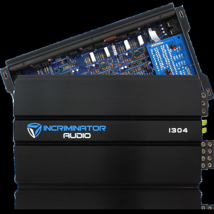Incriminator Audio I304 300w RMS 4 Channel Amplifier