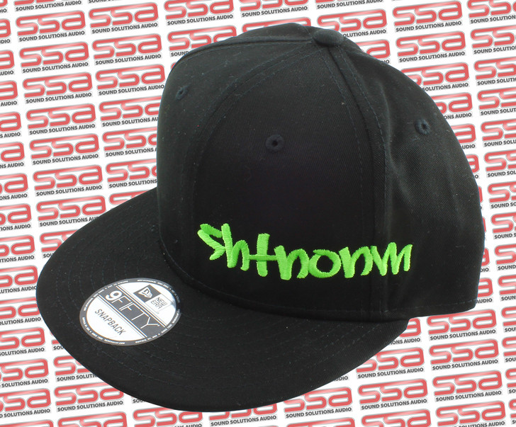 SHTNONM Black / Green Snap Back Hat