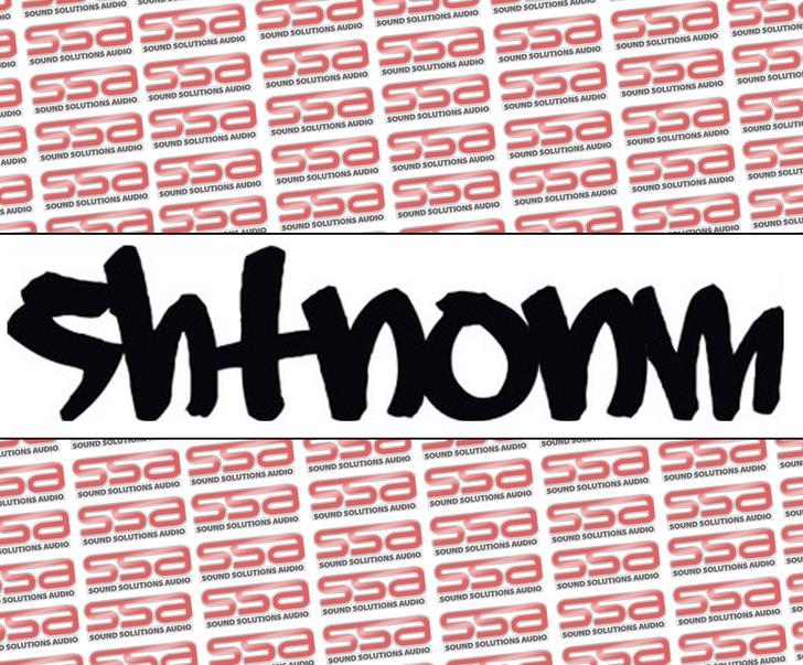 "SHTNONM 9"" Graffiti Decal"