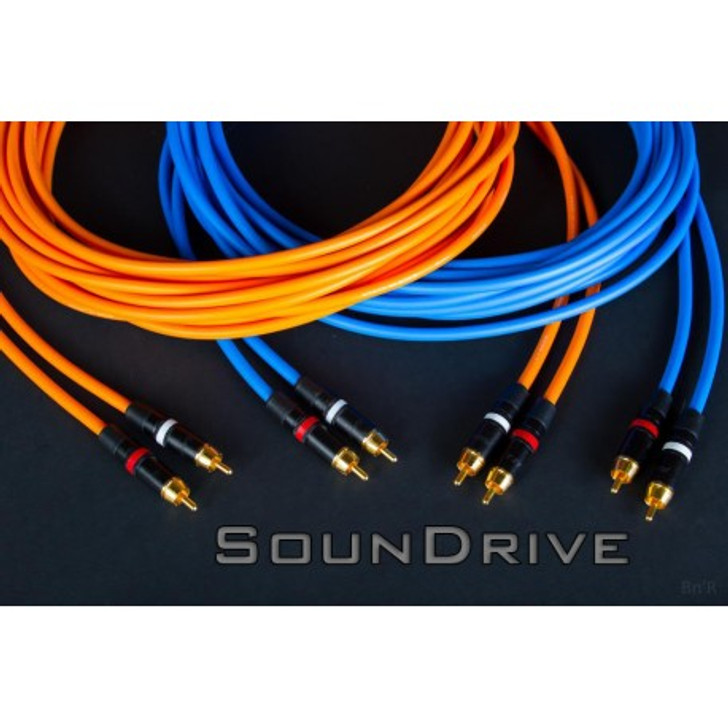 Soundrive High Fidelity Series 6 Channel RCA Cable