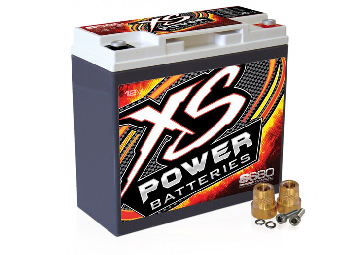 XS Power S680 12V AGM Starting Battery, Max Amps 1,000A  CA: 320A