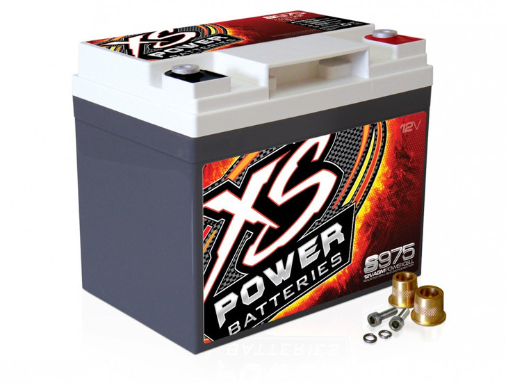 XS Power S975 12V AGM Starting Battery, Max Amps 2,100A  CA: 525A