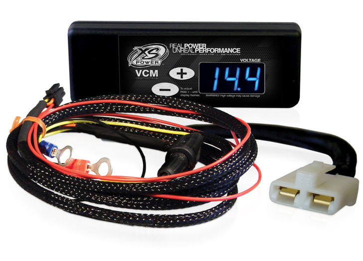 """XS Power Controller and Harness for GM """"SI"""" Series Alternators (1969 to 1988), Blue Display"""
