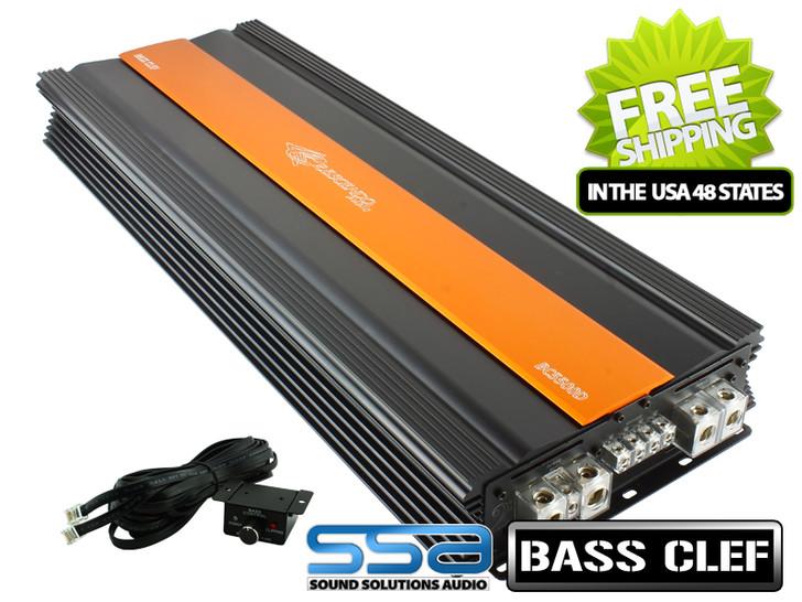 Crescendo Audio BC5500D - 5800 watts x 1 Mono Block Bass Clef Series Amplifier