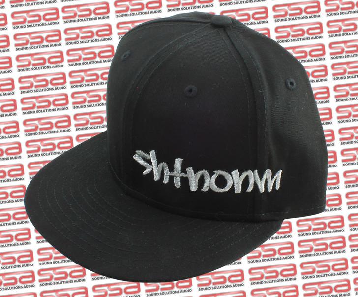 SHTNONM Black / White Snap Back Hat