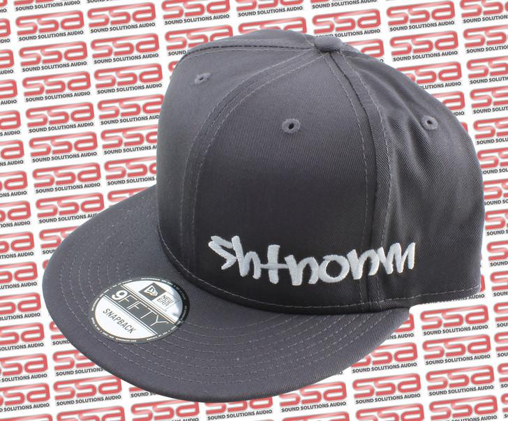 SHTNONM Gray / White Snap Back Hat
