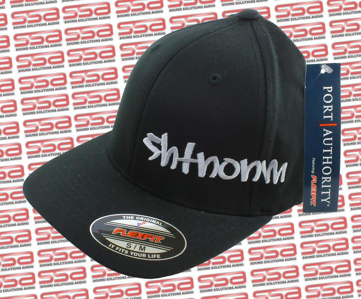SHTNONM Black / White Flexfit Hat