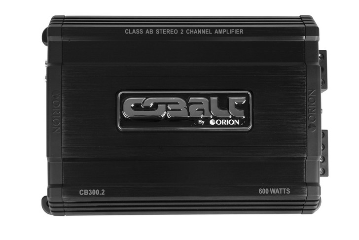 ORION COBALT CB300.2, 2 CHANNEL AMP 300 WATTS 600 WATTS MAX
